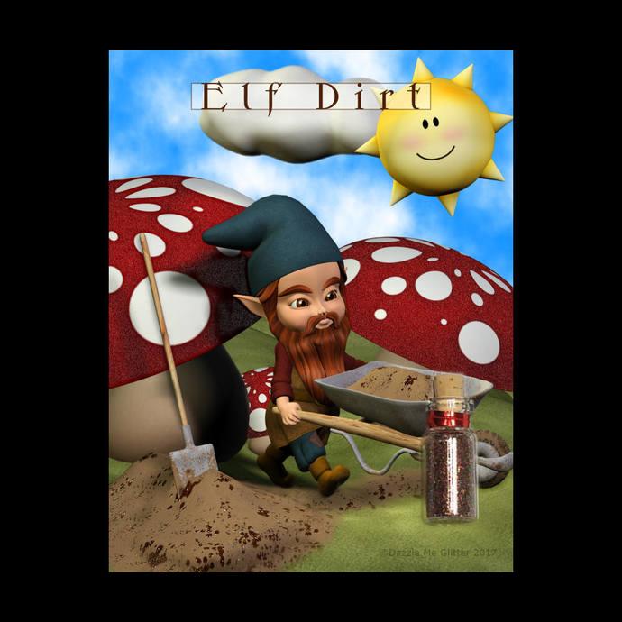 Elf Dirt - Novelty fine glitter mix