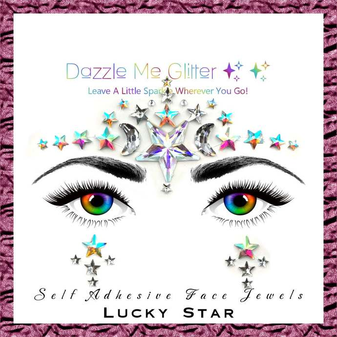 Lucky Star - Self adhesive face and body gems
