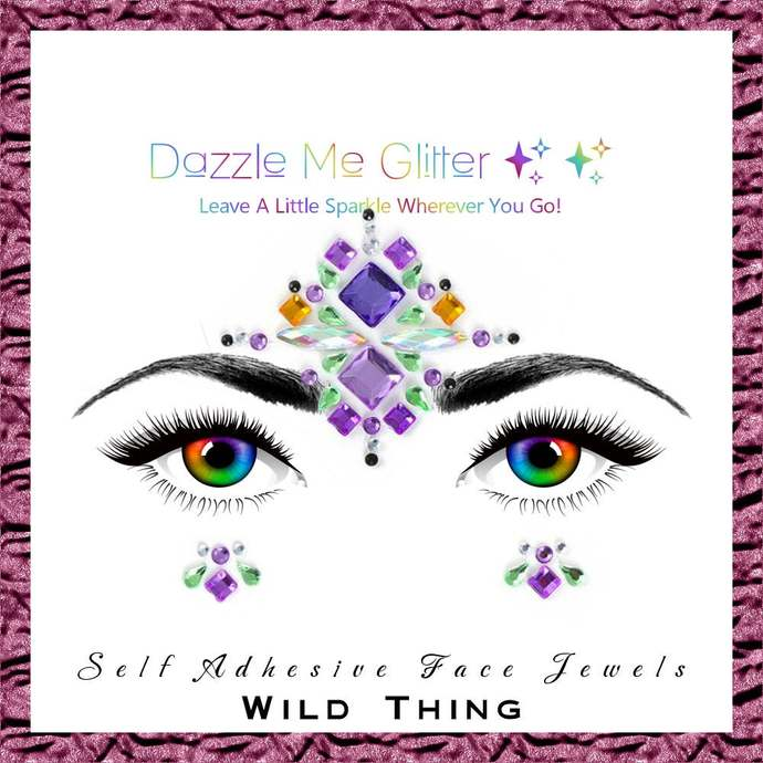 Wild Thing - Self adhesive face and body gems