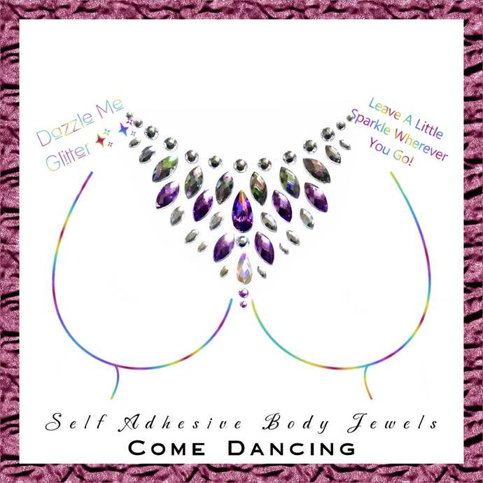 Come Dancing - Self adhesive body and face gems