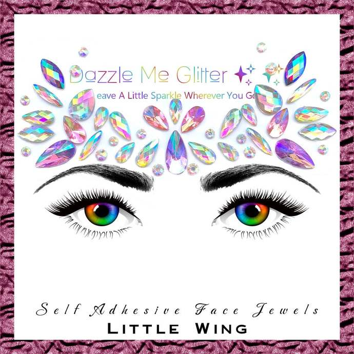Little Wing - Self adhesive face and body gems