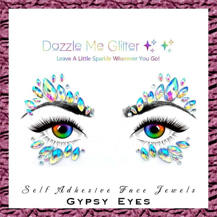 Gypsy Eyes - Self adhesive face and body gems