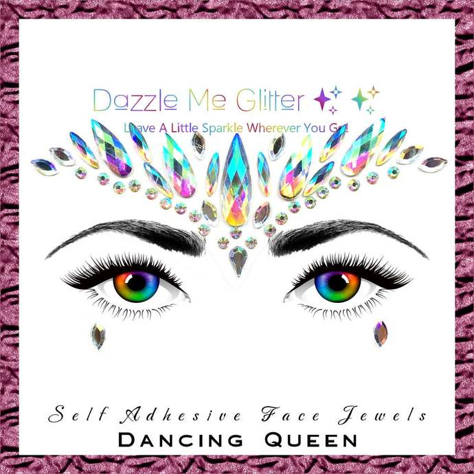 Dancing Queen - self adhesive face and body gems