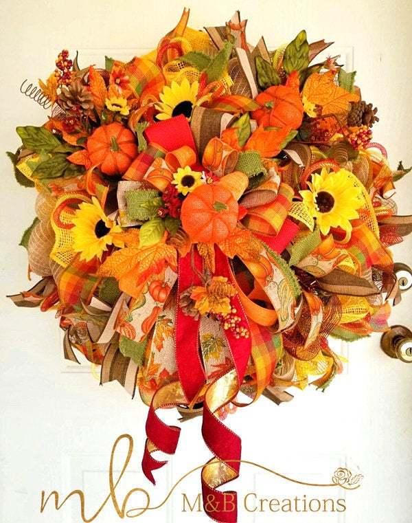 fall wreaths for front door, fall wreath, fall wreath decor, fall wreath