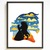 Princess Silhouette modern cross stitch pattern, beauty, beast, castle,