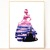 Princess Silhouette modern cross stitch pattern, fairy godmother, castle,