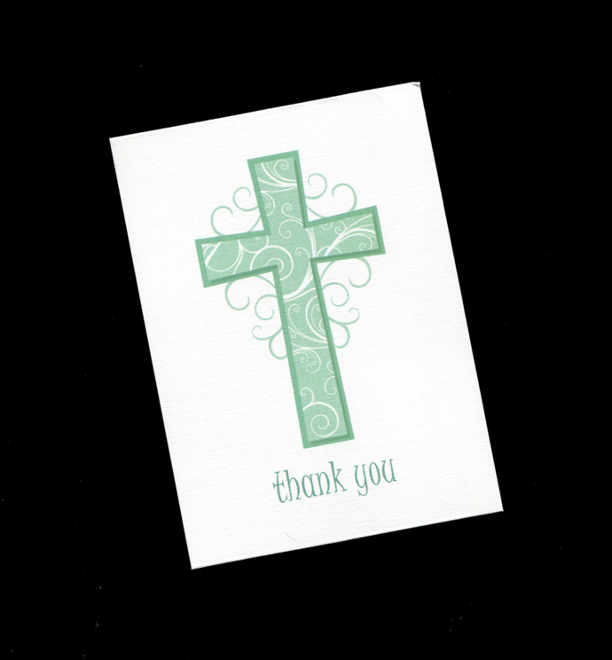 10 Thank You Cards for Baptism Communion