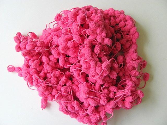 Scarf with Heavenly Pink Puffs Boa Scarf FREE US Shipping