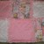 Blue Jean Teddy's Blossom baby rag quilt