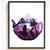 Alice in Wonderland Silhouette modern cross stitch pattern, nature, magic,