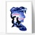 Prince Silhouette modern cross stitch pattern, castle, fairytale, nature,