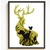 Deer Silhouette modern cross stitch pattern, nature, forest, cute, animal