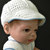 Baby Boy Christening Outfit with Jacket, Suspendered Pants, Cap, and Booties: