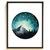 Forest mountain Modern Cross Stitch Pattern, starry night, watercolor, nature