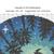 Nature Cross Stitch Pattern modern, starry night, watercolor, forest, galaxy,