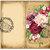 Nature Themed Floral Travelers Notebook Size Vintage Junk Journal Kit