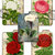 Tabbed Journal Cards Featuring Vintage Florals Journal Cards Ephemera
