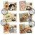 8 Sewing Ephemera Collaged Postcard Junk Journal Card