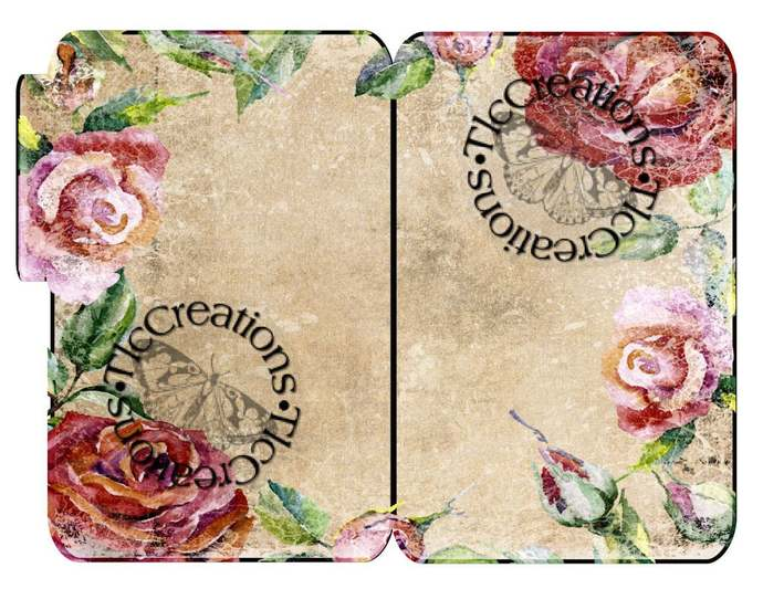 Roses are Red Vintage Printable Journal Kit, Junk Journal