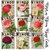 Roses in Bloom Bingo Card Ephemera and Journal Cards, Junk Journalling