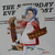 Vintage Norman Rockwell Cross Stitch Completed