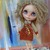 BLYTHE or Pullip DOLL Dress - OOAK -  Hannah -  fluffy mohair in country colours