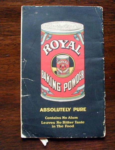 New Royal Cookbook. 1922