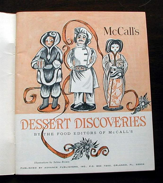 McCall's Dessert Discoveries. 1974