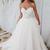 Charming Appliques White Tulle A Line Wedding Dress, Sexy White Bridal Dresses