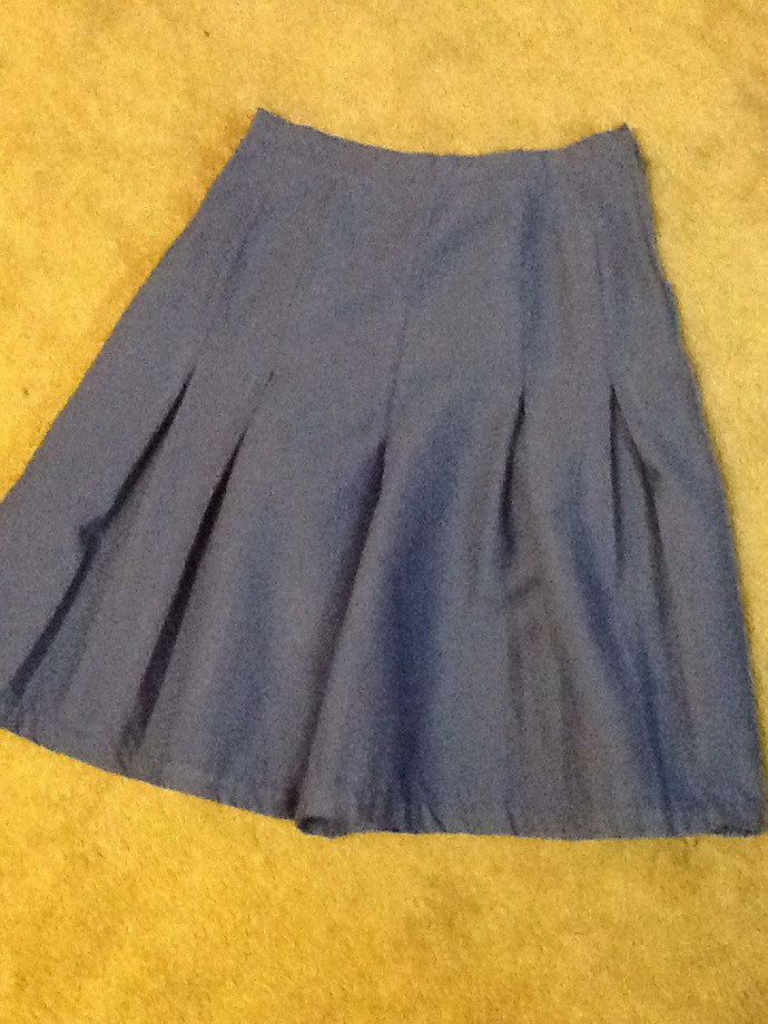 Plain Colored Cheerleader pleats for Miss Culottes