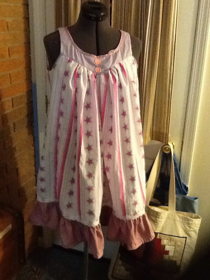 Custom Order Frilly Nightgowns for Young Girls.