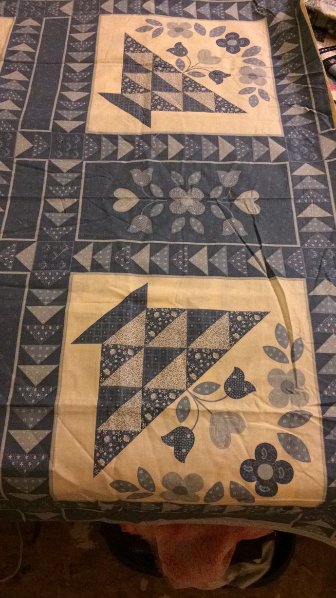 Twin Size Custom Made Comforter-Quilt