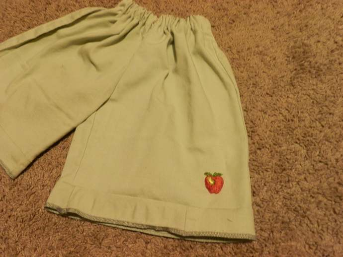 Finished Girls Culottes in Plain Colors