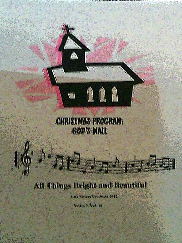 Christmas Program: God's Wall