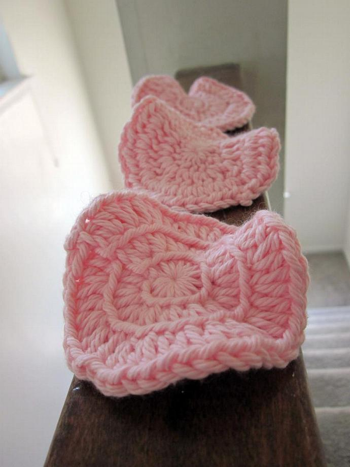 Pink Premium Cotton Face Scrubbies