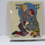 Vintage Needlepoint called Football Hero  by Norman Rockwell, 1955, Completed,