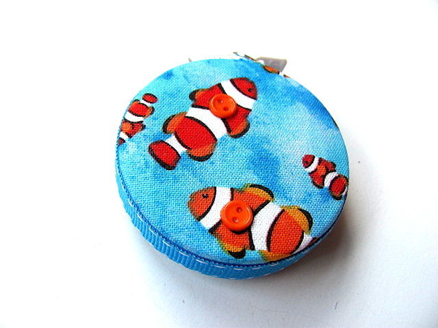 Tape Measure with Clown Fish Retractable Measuring Tape