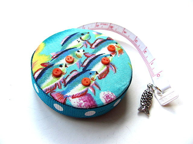 Tape Measure School of Fish Retractable Measuring Tape