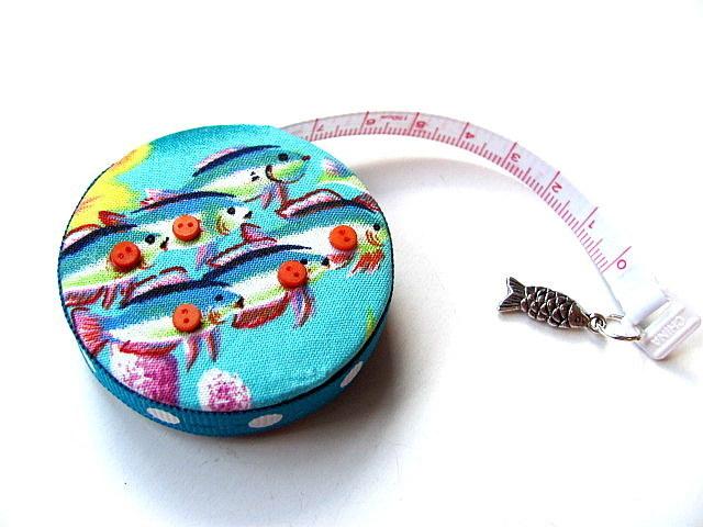 Tape Measure School of Fish Retractable Measuring Tape