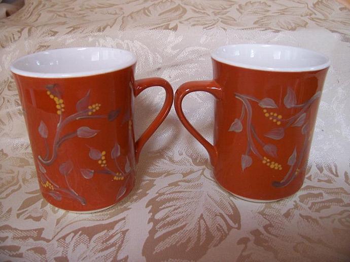 Autumn Rust Mugs