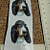 Bassett Hound Ceramic Waterslide Decals (D9-43)
