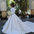 2019 New Elegant Long Sleeves A-line Wedding Dresses 2020 Sexy African Off