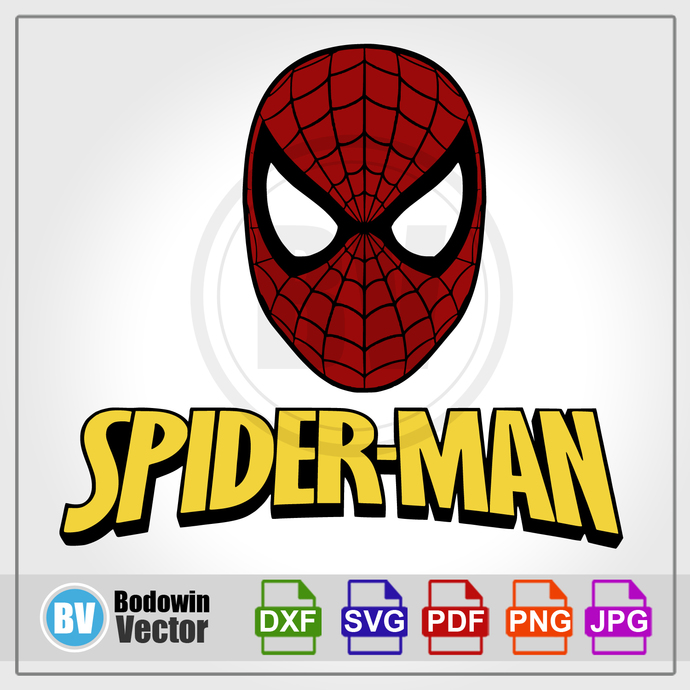 Spider-Man SVG - Spiderman  / Instant Download / Digital Clipart / Cutting Files