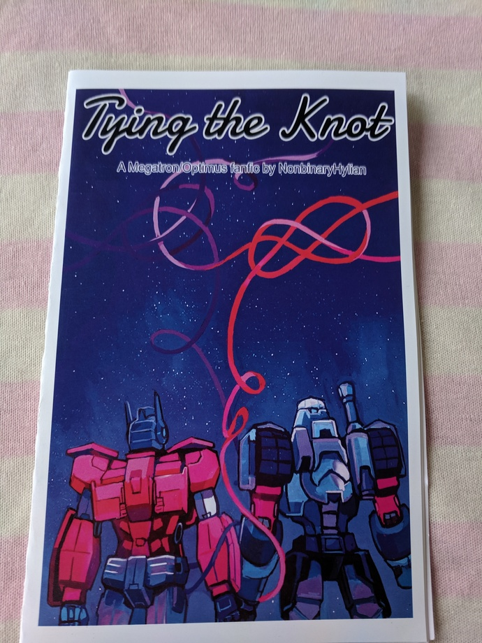 """Tying the Knot"" A MegOP Fanfic Zine"
