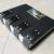Black Ninja Goth Lockable Steampunk Leather Journal. Black leather, rivets,