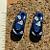 Blue Flip Flop Beads