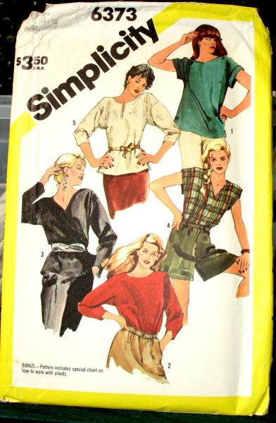 Simplicity 6373 Vintage Pattern