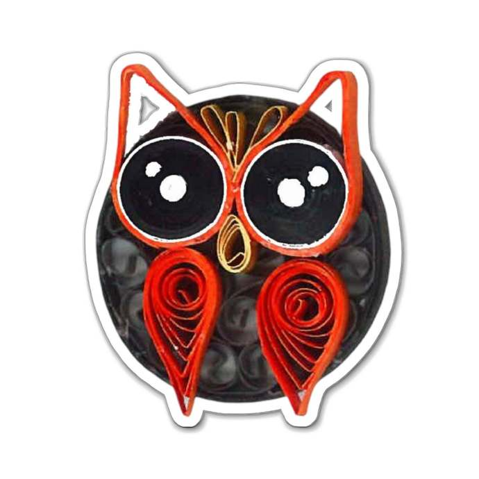 Owl Magnet for Indoor and Outdoor Use Cute Owl for Birthday Gift
