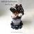 Chocolate Fudge Pudding Sundae. Felt Sweets Cafe Decorations, Dessert Display,