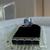 Big Saphiret Foil Bead Necklace - Minimalist Style